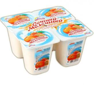"""Йогурт """"Альпенгурт"""" сочный молочный"""