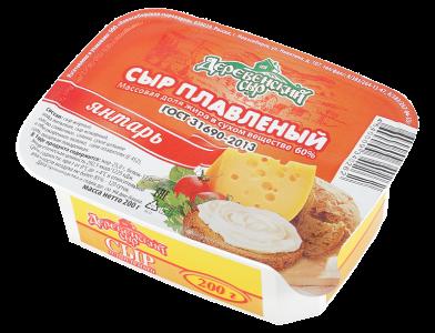 Сыр плавленый «Янтарь»