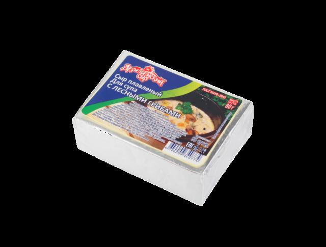 Сыр плавленный для супа с лесными грибами