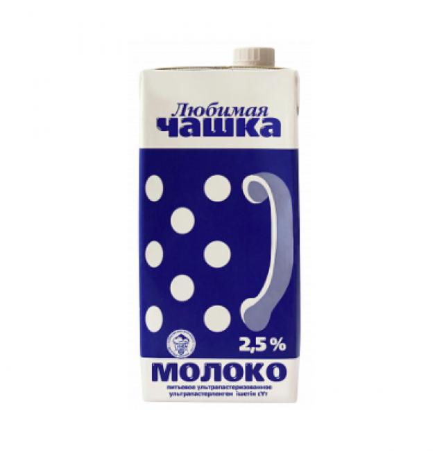 Молоко питьевое ультрапастеризованное Любимая чашка (2,5%)