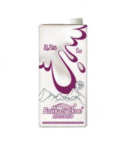 Молоко питьевое ультрапастеризованное Байкальское (3,2%)