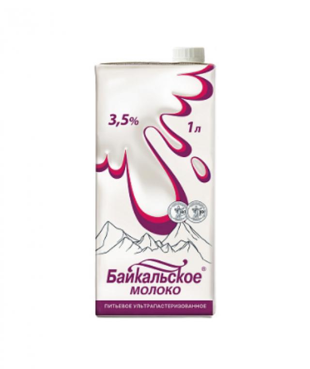 Молоко питьевое ультрапастеризованное Байкальское (3,5%)