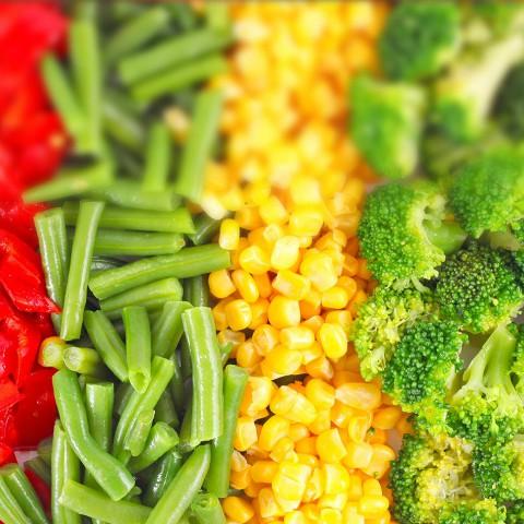 Овощи и ягоды замороженные